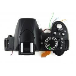 Górna część obudowy + lampa błyskowa Nikon D3100