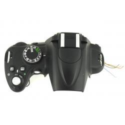 Górna część obudowy + lampa błyskowa Nikon D5000