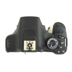 Górna część obudowy + lampa błyskowa Canon 500D