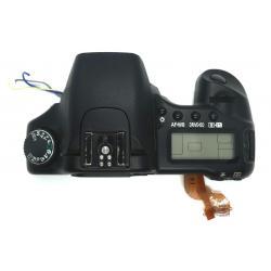 Górna część obudowy + lampa błyskowa Canon 30D
