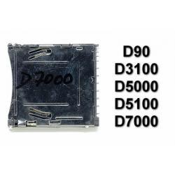 Gniazdo czytnik kart SD Nikon D90 D3100 D5000 D5100 D7000