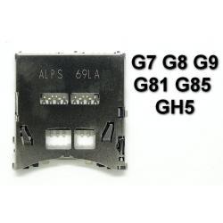 Gniazdo czytnik kart Panasonic DMC G7 G8 G9 G80 G81 G85 GH5