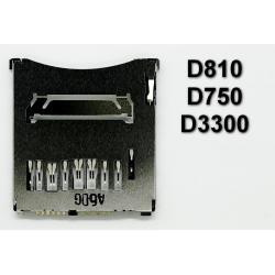 Gniazdo czytnik kart SD Nikon D3300 D750 D810