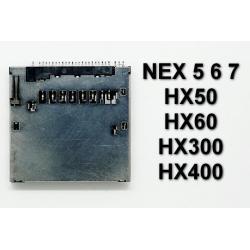 Gniazdo czytnik kart SD Sony RX100 A5000 A6000 NEX5 NEX6 NEX7 HX50