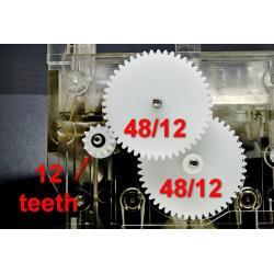 48x12 48x12 Zestaw naprawczy licznik Mercedes W107 W124 W126